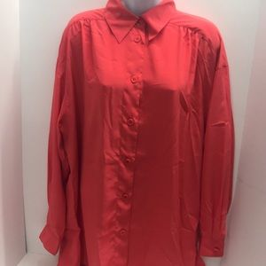 Chaus Women's Blouse Size 12 Buttoned